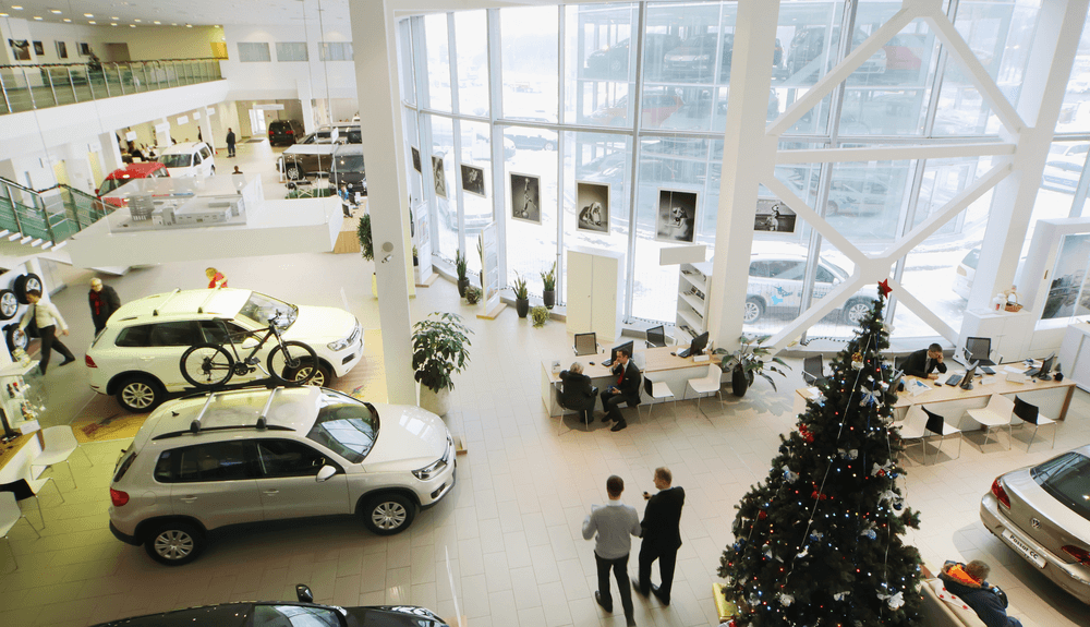 Used Cars Showroom