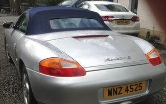 Porsche Boxster 2001 Petrol Ballymoney full