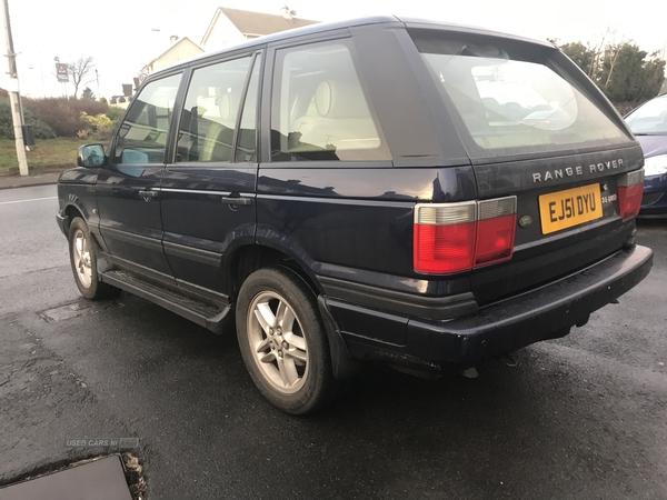 Land Rover Range Rover 2001 Diesel Moneymore full